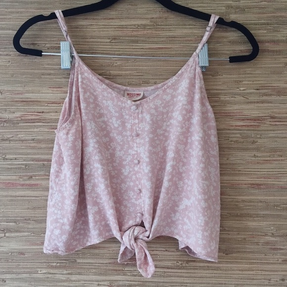 Mossimo Supply Co. Tops - Mossimo pink tank top